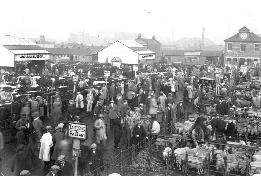 Rugby.  Cattle Market |  IMAGE LOCATION: (Rugby Library)
