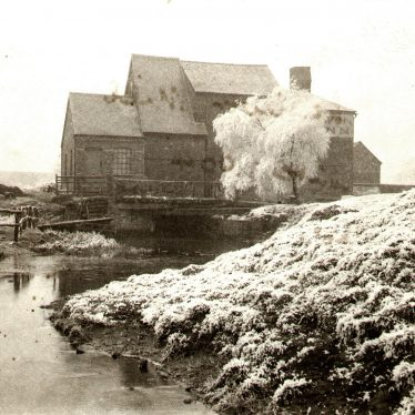 Avon Mill.  Winter scene