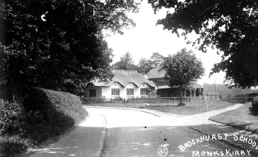 Brockhurst school, Monks Kirby.  1910s |  IMAGE LOCATION: (Warwickshire County Record Office)