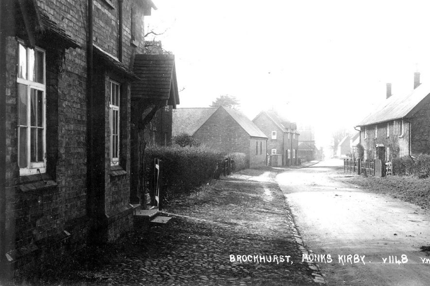 Brockhurst, Monks Kirby. 1 920s |  IMAGE LOCATION: (Warwickshire County Record Office)