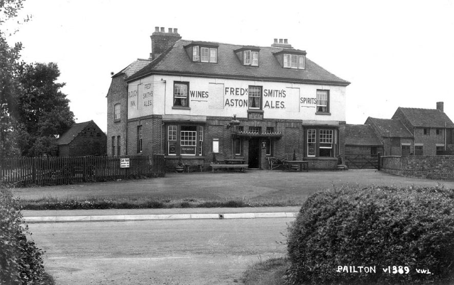 The Plough Inn, Pailton.  1930s |  IMAGE LOCATION: (Warwickshire County Record Office)