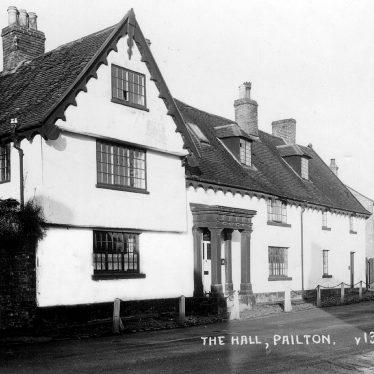 Pailton.  Pailton Hall