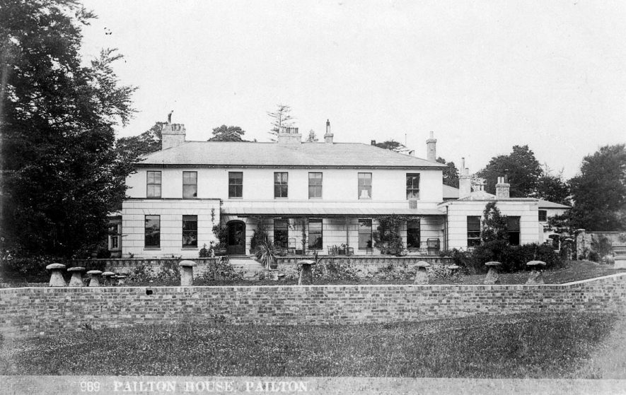 Pailton House and gardens.  1910s |  IMAGE LOCATION: (Warwickshire County Record Office)