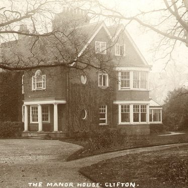 Clifton upon Dunsmore.  Manor House