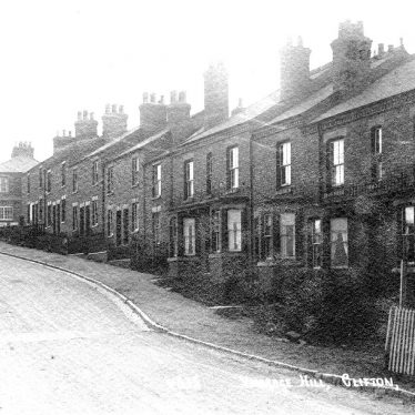Clifton upon Dunsmore.  Vicarage Hill