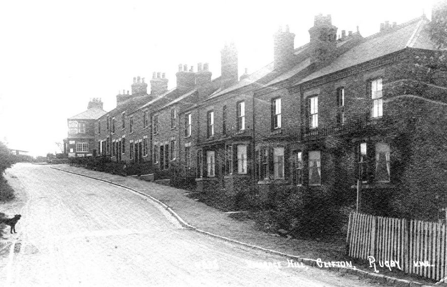 Clifton upon Dunsmore Vicarage Hill.  1920s |  IMAGE LOCATION: (Warwickshire County Record Office)