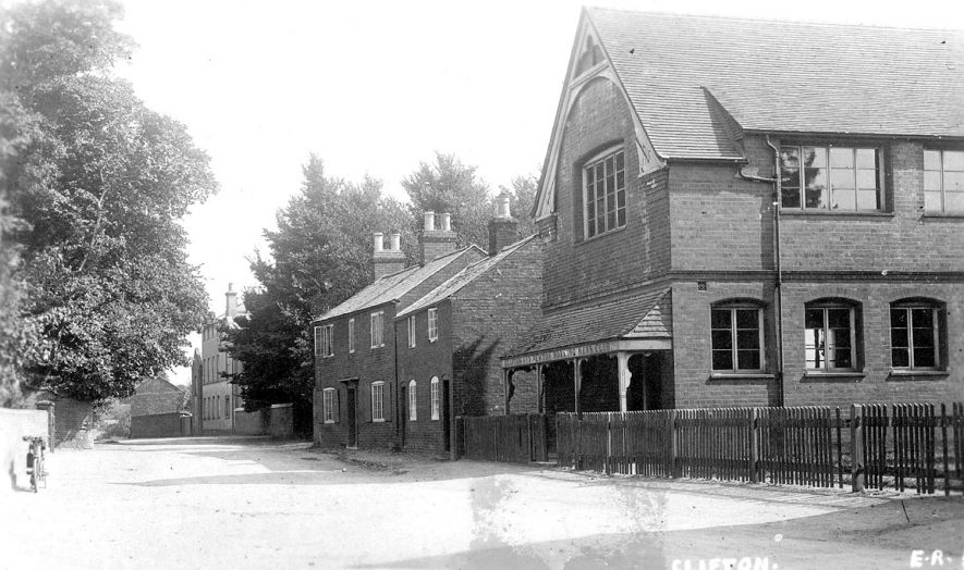 The Townsend Memorial Hall at Clifton upon Dunsmore.  1910s |  IMAGE LOCATION: (Warwickshire County Record Office)