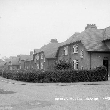 Bilton.  Council houses