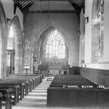 Bilton.  Saint Mark's Church, interior