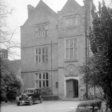 Bilton Hall.  Entrance