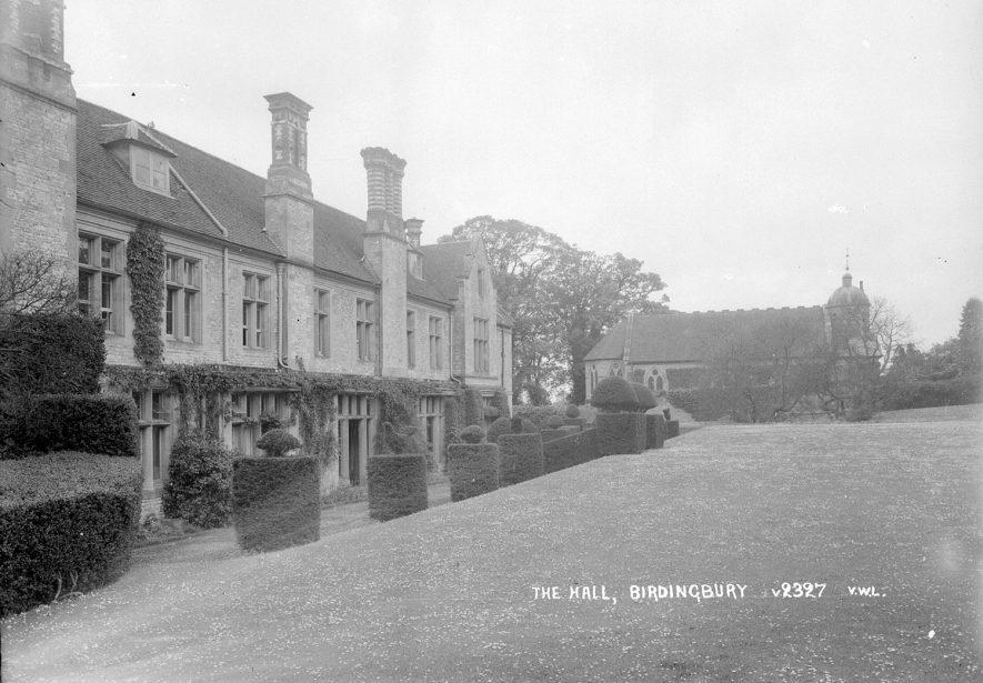 Birdingbury Hall.  1930s |  IMAGE LOCATION: (Warwickshire County Record Office)