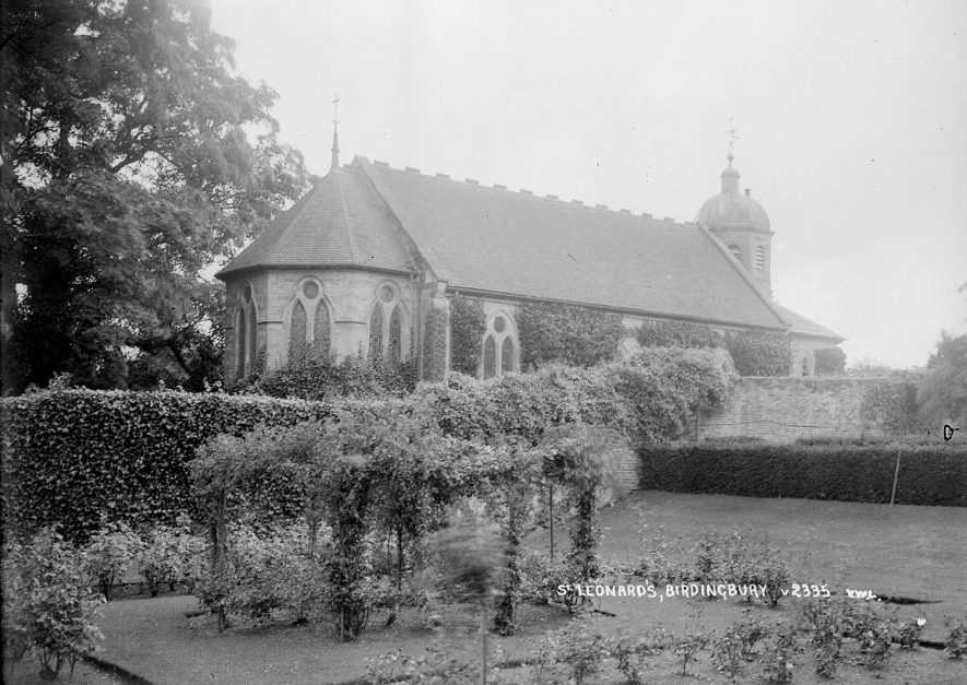 St Leonard's Church, Birdingbury.  1930s |  IMAGE LOCATION: (Warwickshire County Record Office)