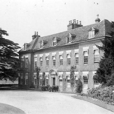 Blythe End.  Blyth Hall