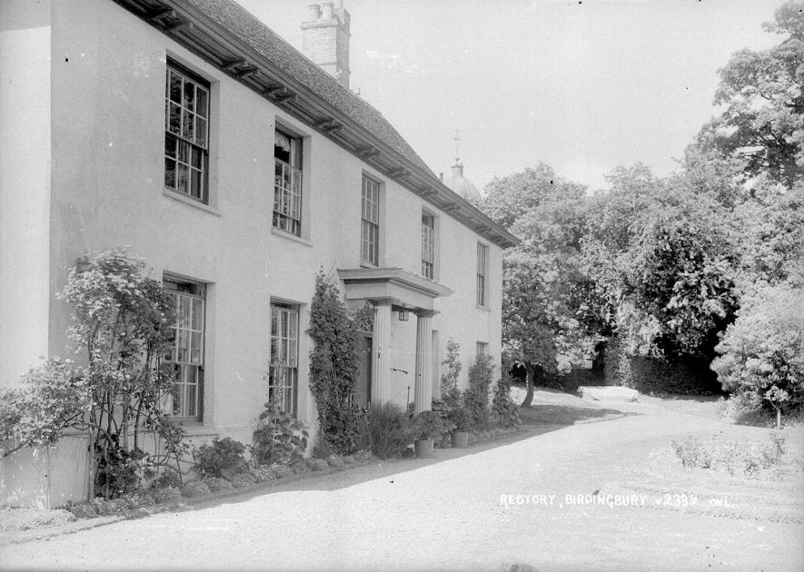 Birdingbury Rectory.  1930s |  IMAGE LOCATION: (Warwickshire County Record Office)