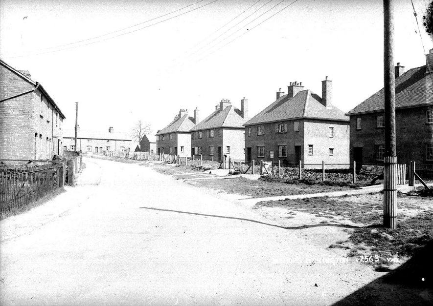 New Housing in Bishops Itchington.  1930s |  IMAGE LOCATION: (Warwickshire County Record Office)