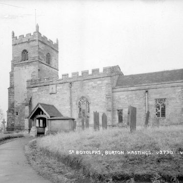 Burton Hastings.  Church