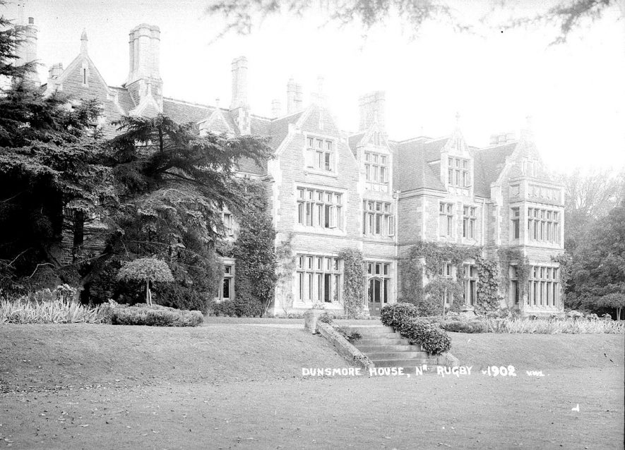 Dunsmore House, Clifton upon Dunsmore.  1930s |  IMAGE LOCATION: (Warwickshire County Record Office)