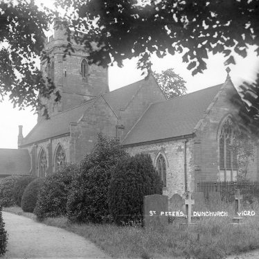 Dunchurch.  St Peter's church