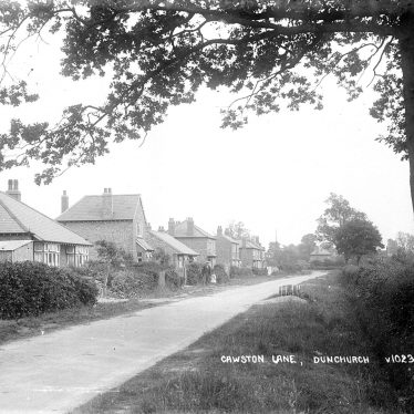 Dunchurch.  Cawston Lane