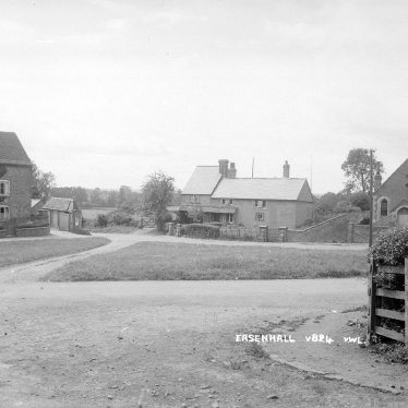 Easenhall.  Road junction