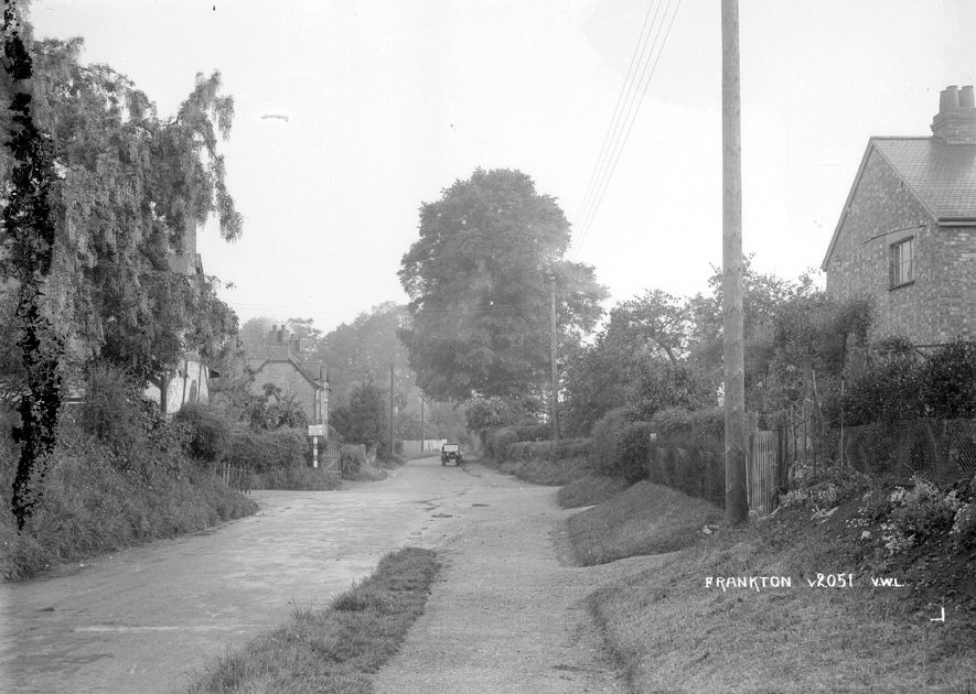 Frankton.  A view of the village.  1930s |  IMAGE LOCATION: (Warwickshire County Record Office)