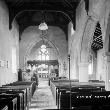 Frankton.  St Nicholas Church, interior