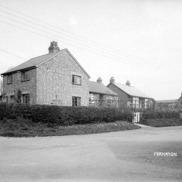 Frankton.  Village street