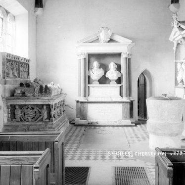 Chesterton.  St Giles' Church interior