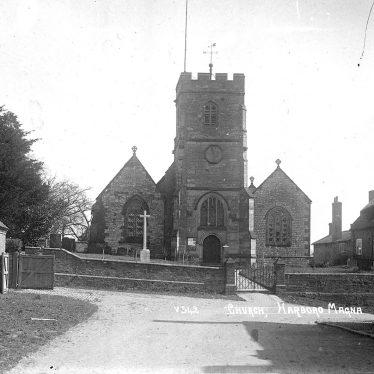 Harborough Magna.  All Saints church