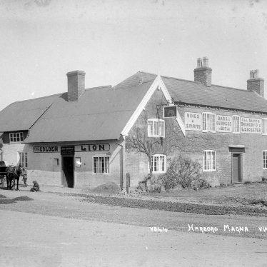 Harborough Magna.  Golden Lion public house