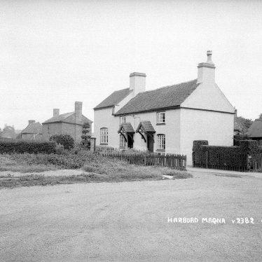 Harborough Magna.  Cottages