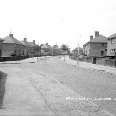 Hillmorton.  Bucknill Crescent