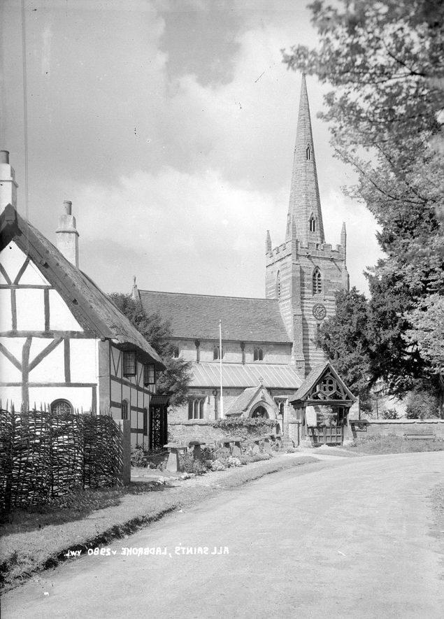 All Saints Church  Ladbroke.  1930s |  IMAGE LOCATION: (Warwickshire County Record Office)