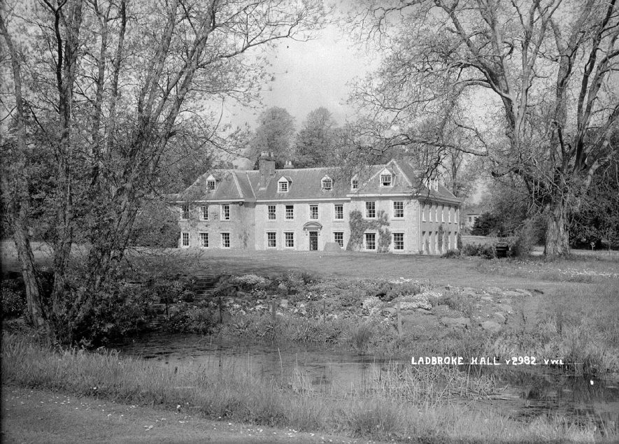 Ladbroke Hall.  1930s |  IMAGE LOCATION: (Warwickshire County Record Office)