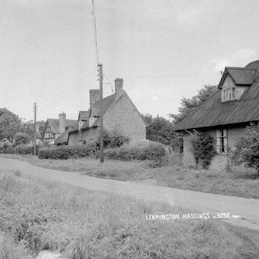 Leamington Hastings.  Cottages