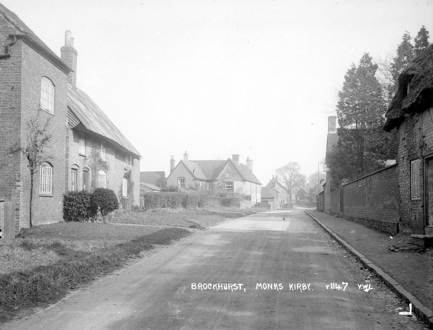 View of Brockhurst, near Monks Kirby.  1960s |  IMAGE LOCATION: (Warwickshire County Record Office)