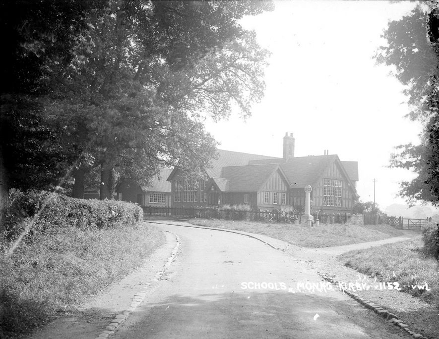 View of the schools, Monks Kirby.  1950s |  IMAGE LOCATION: (Warwickshire County Record Office)