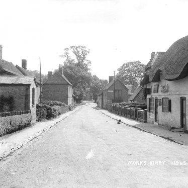 Monks Kirby.  Village street and shop