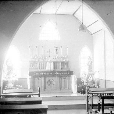 Monks Kirby.  St Joseph's Convent Chapel