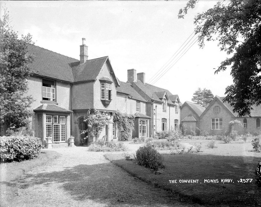 St. Josephs Convent, Monks Kirby.  1930s |  IMAGE LOCATION: (Warwickshire County Record Office)