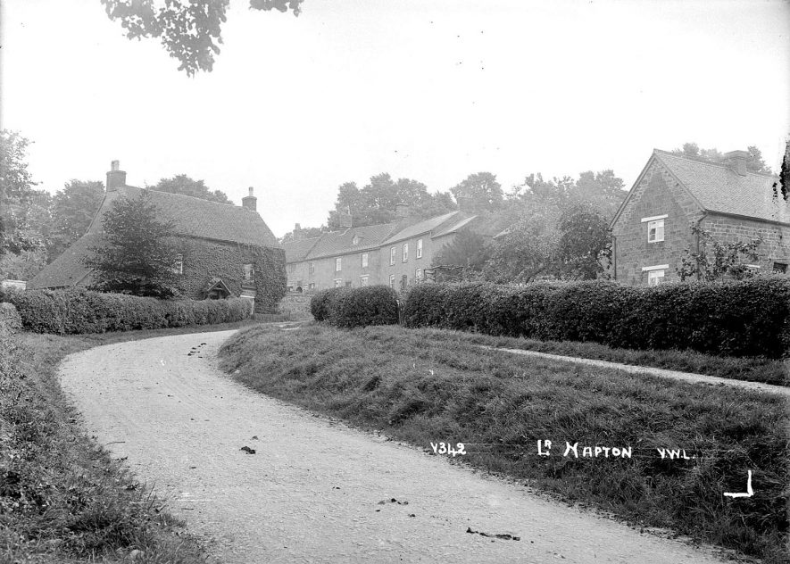 Cottages in Lower Napton, Napton on the Hill.  1920s  [The cottages and houses are in