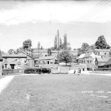 Napton on the Hill.  Village scene