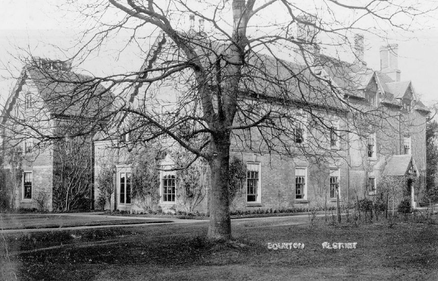 The Rectory at Bourton on Dunsmore.  1900s |  IMAGE LOCATION: (Warwickshire County Record Office)