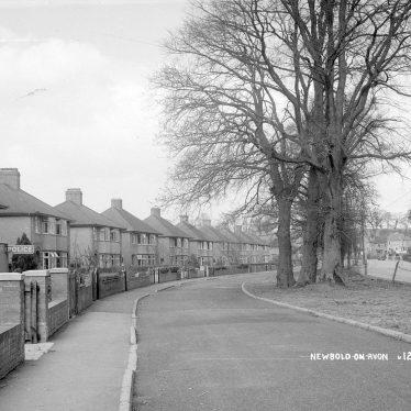 Newbold on Avon.  New houses