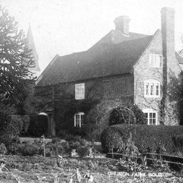 Bourton on Dunsmore.  Church Farm