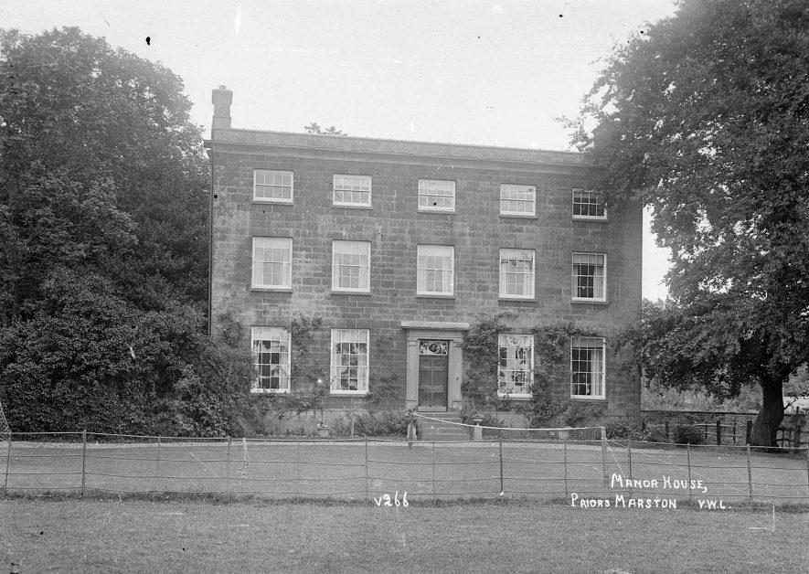 Manor House, Priors Marston.  1926 |  IMAGE LOCATION: (Warwickshire County Record Office)