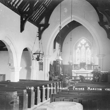 Priors Marston.  Church interior