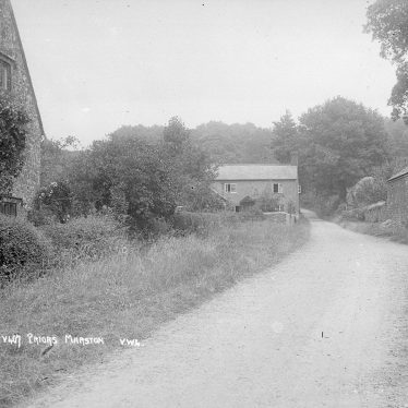 Priors Marston.  Country lane