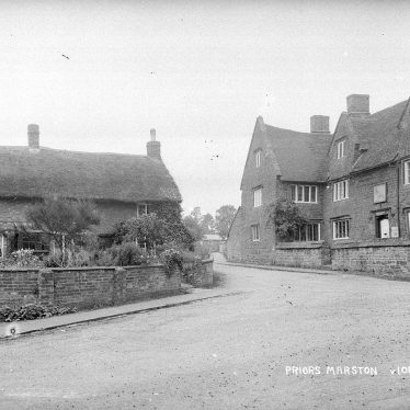 Priors Marston.  Falcon Inn and cottages
