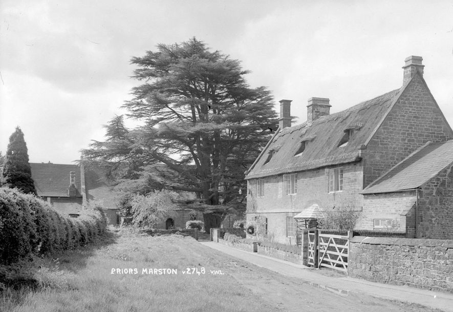 A village scene in Priors Marston.  1950s |  IMAGE LOCATION: (Warwickshire County Record Office)